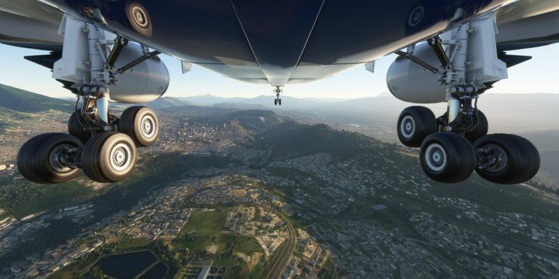 Microsoft Flight Simulator Boeing 787 Landing In Quito
