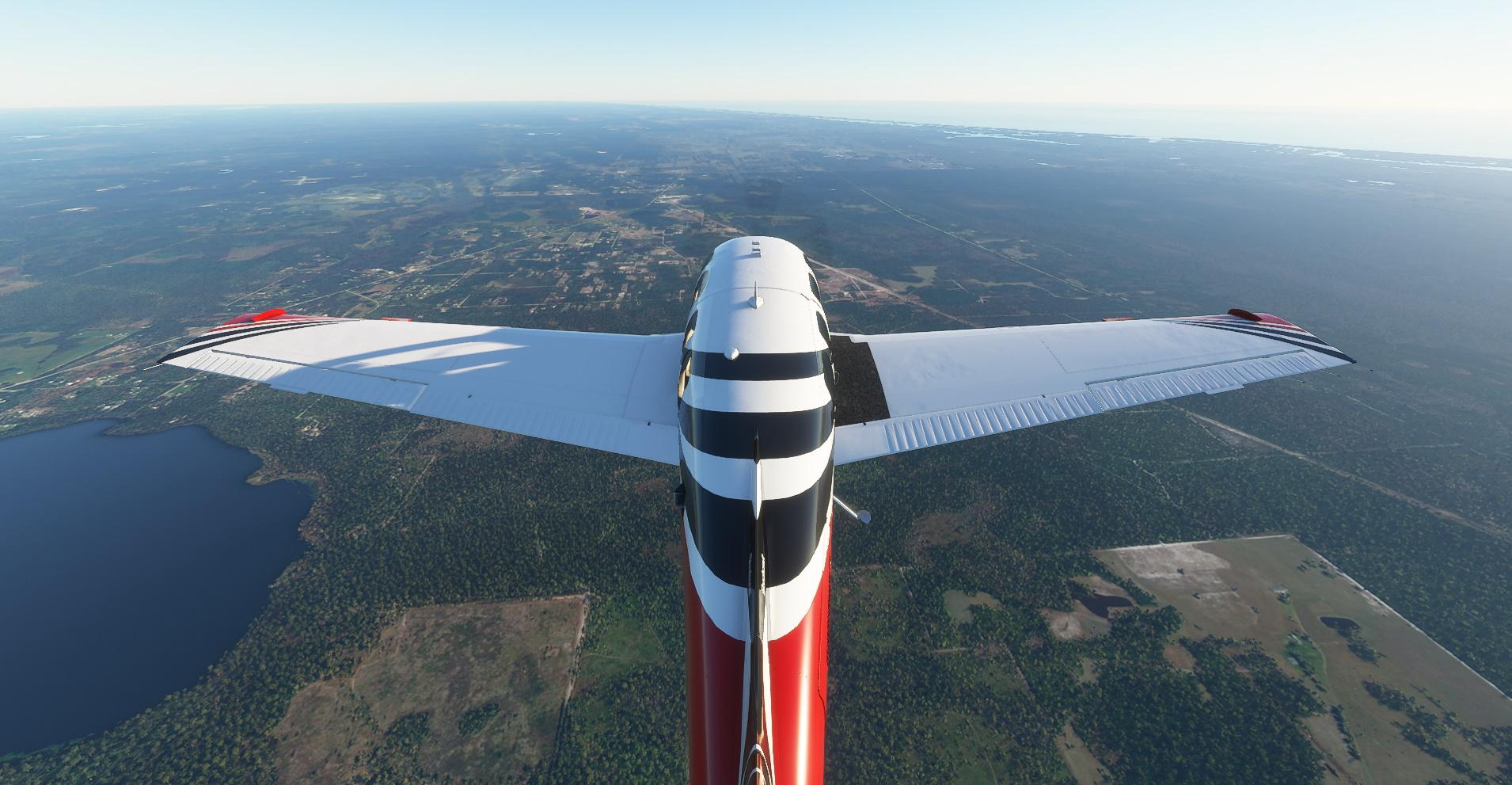 Симулятор полета Bonanza Over Fl
