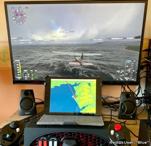 Microsoft Flight Simulator Spacedesk Demo Reddit Blue