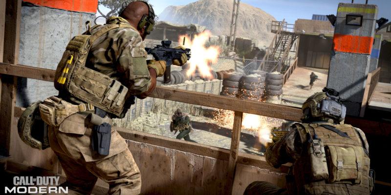 Modern Warfare Weapon Inspection