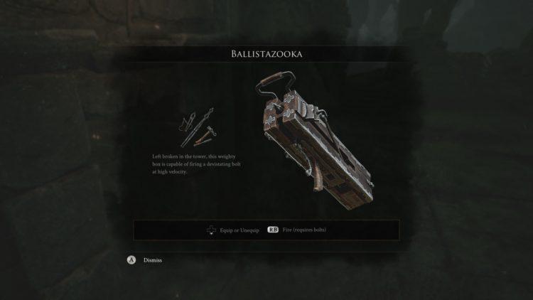 Mortal Shell How To Get Ballistazooka 1a
