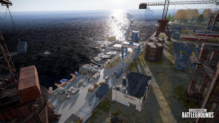 Pubg Erangel Docks