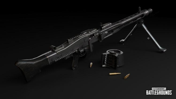 Pubg New Weapon Mg3 Light Machine Gun