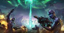 Planetside 2 The Shattered Warpgate Keyart