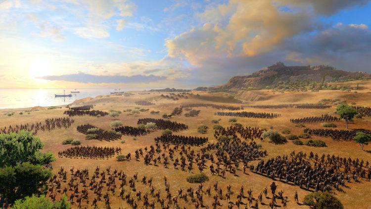Приготовьтесь к войне, как тотальная война. Сага Троя. Греческие и троянские герои (2)