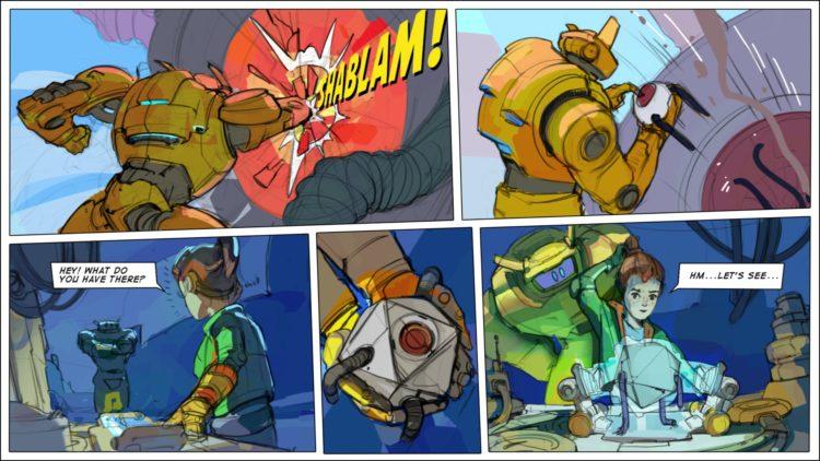 Robo Quest impressions comic