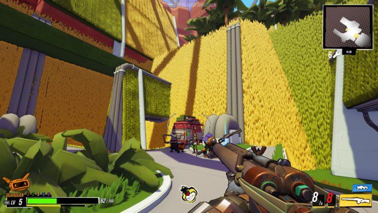 Robo Quest garden biome