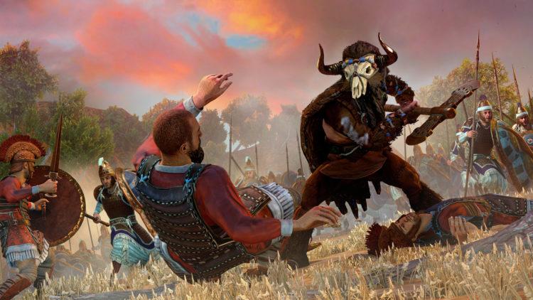 Total War Saga Troy Mythological Creatures Epic Agents Cyclops Minotaur