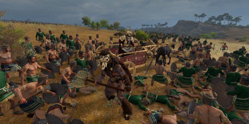 Total War Saga Troy Mythological Creatures Epic Agents Cyclops Minotaur 1