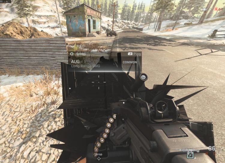 Warzone Gun Glitch