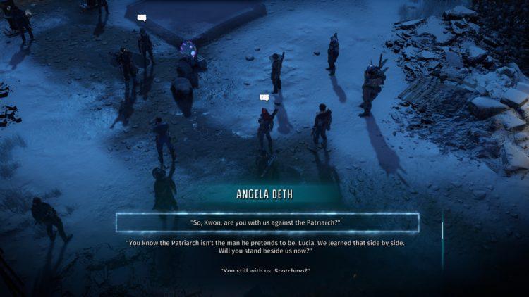 Wasteland 3 Final Battle Final Act Angela Deth Or Patriarch 1d