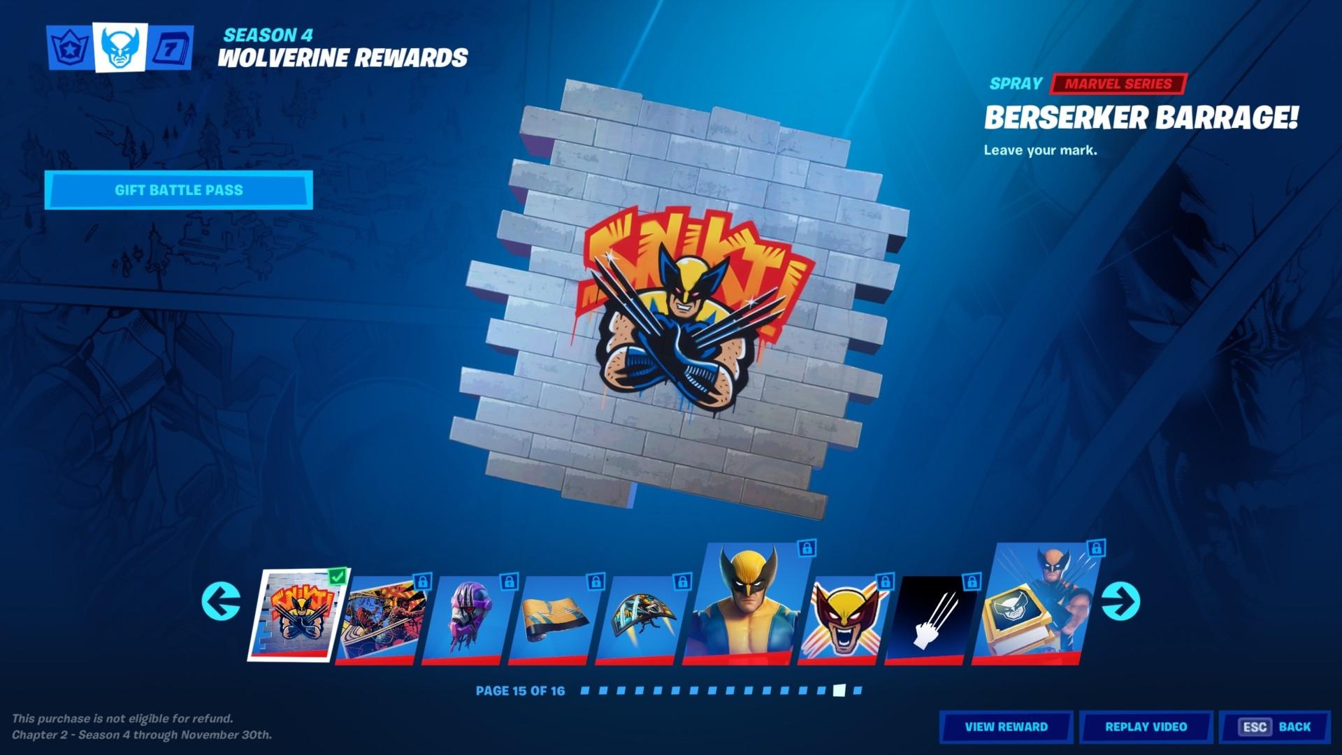 All Fortnite Wolverine Claw Marks Locations In Fortnite Season 4