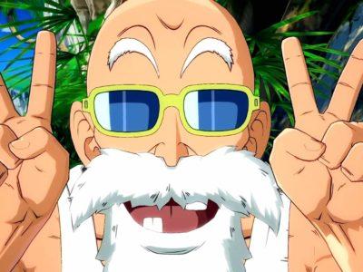Master Roshi V Jump scan leaks