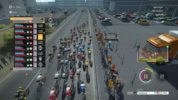 Tour De France 2020 Big Peloton