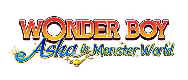 Wonder Boy Asha In Monster Land Title
