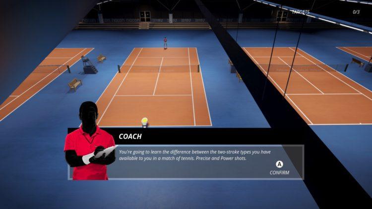 Tennis World Tour 2 Practice Mode