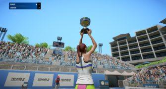 Tennis World Tour 2 review feat
