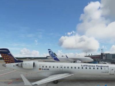Microsoft Flight Simulator - Aerosoft CRJ