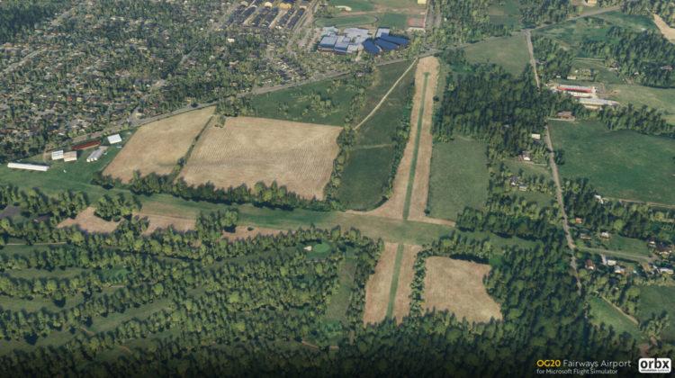Microsoft Flight Simulator aerosoft - ORBX OG20 Fairways Airport