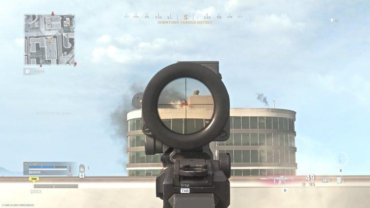 Call Of Duty Warzone Kilo 141 Mounted