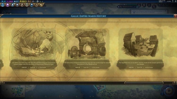 Civilization Vi New Frontier Pass Civilization 6 Ambiorix Gauls Gaul Deity Guide 1c