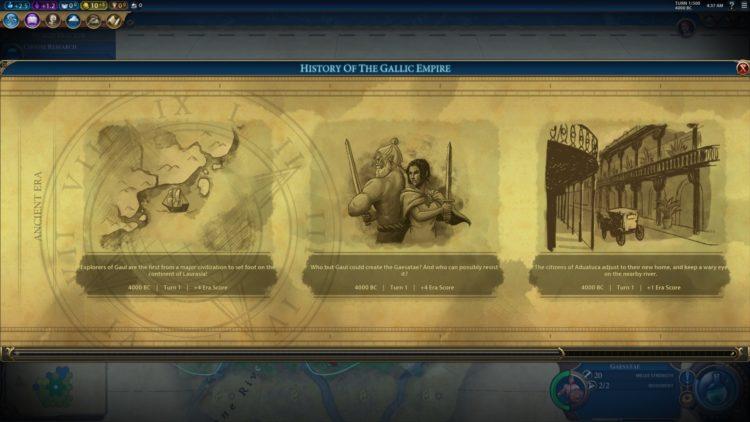 Civilization Vi New Frontier Pass Civilization 6 Ambiorix Gauls Gaul Deity Guide 2a