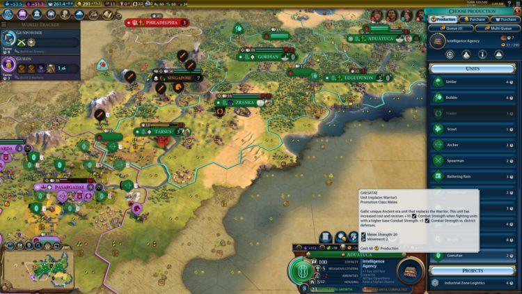 Civilization Vi New Frontier Pass Civilization 6 Ambiorix Gauls Gaul Deity Guide 3c