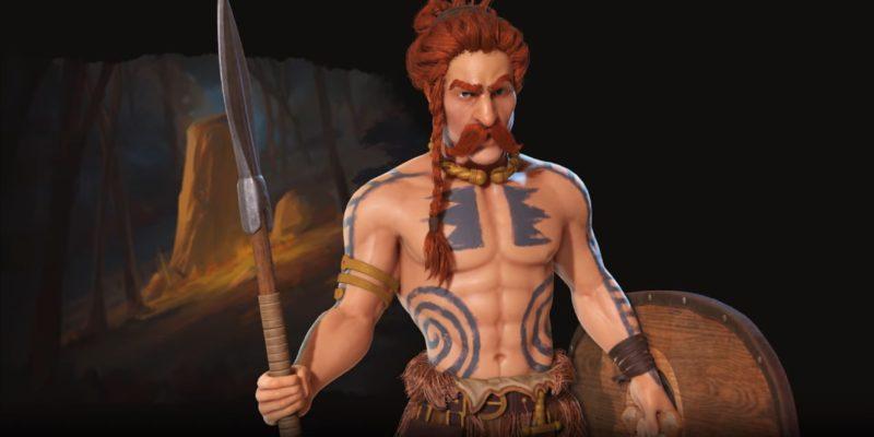 Civilization Vi New Frontier Pass Civilization 6 Gaul Ambiorix Uniques