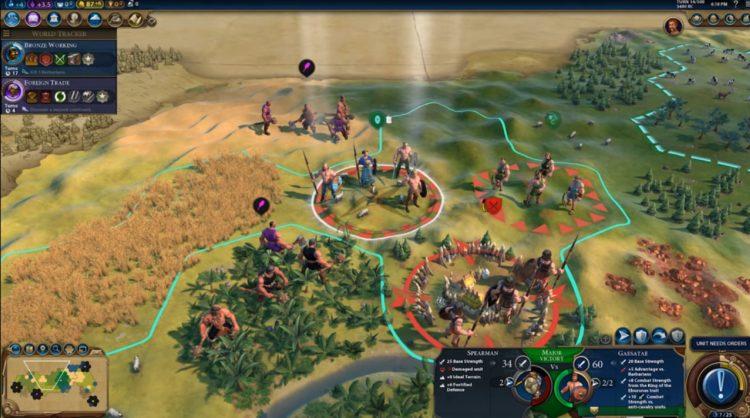 Civilization Vi New Frontier Pass Civilization 6 Gaul Ambiorix Uniques 1