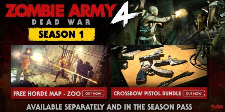 Zombie Army 4: Dead War season 2