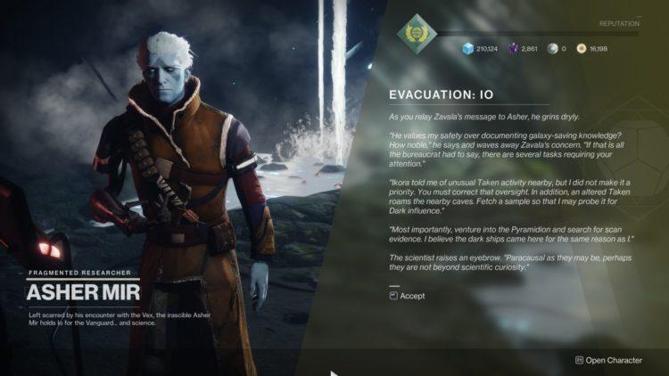 Destiny 2 Season Of Arrivals Traveler's Chosen Exotic Sidearm Exodus Evacuation Guide 1b