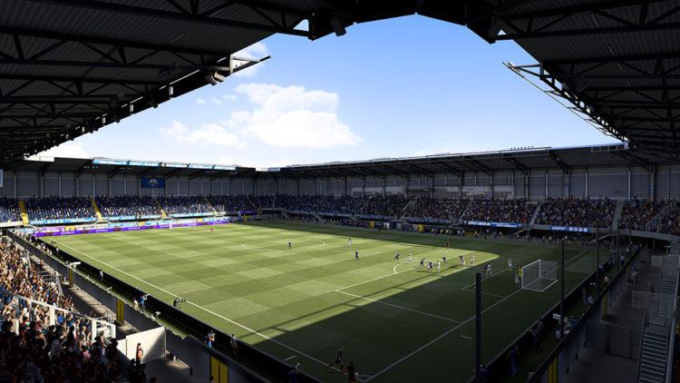 FIFA 21 Leeds Elland Road