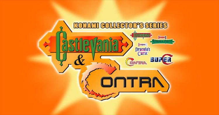 Konami Collector's Series Castlevania & Contra Facebook
