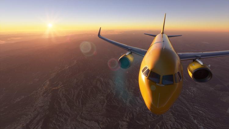 Microsoft Flight Simulator Airbus A320 Over Cali