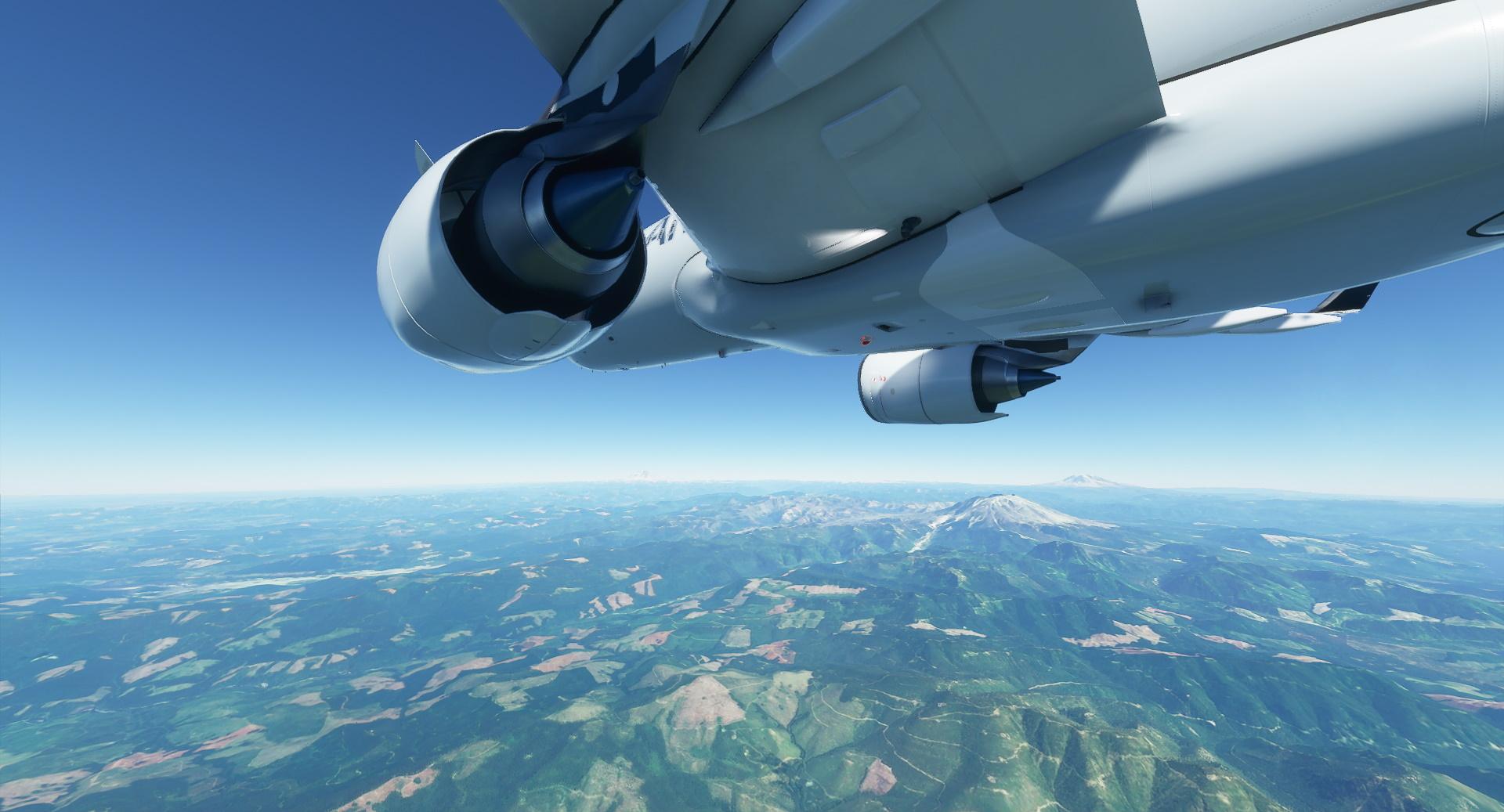 Microsoft Flight Simulator patch Airbus A320 Over Oregon2