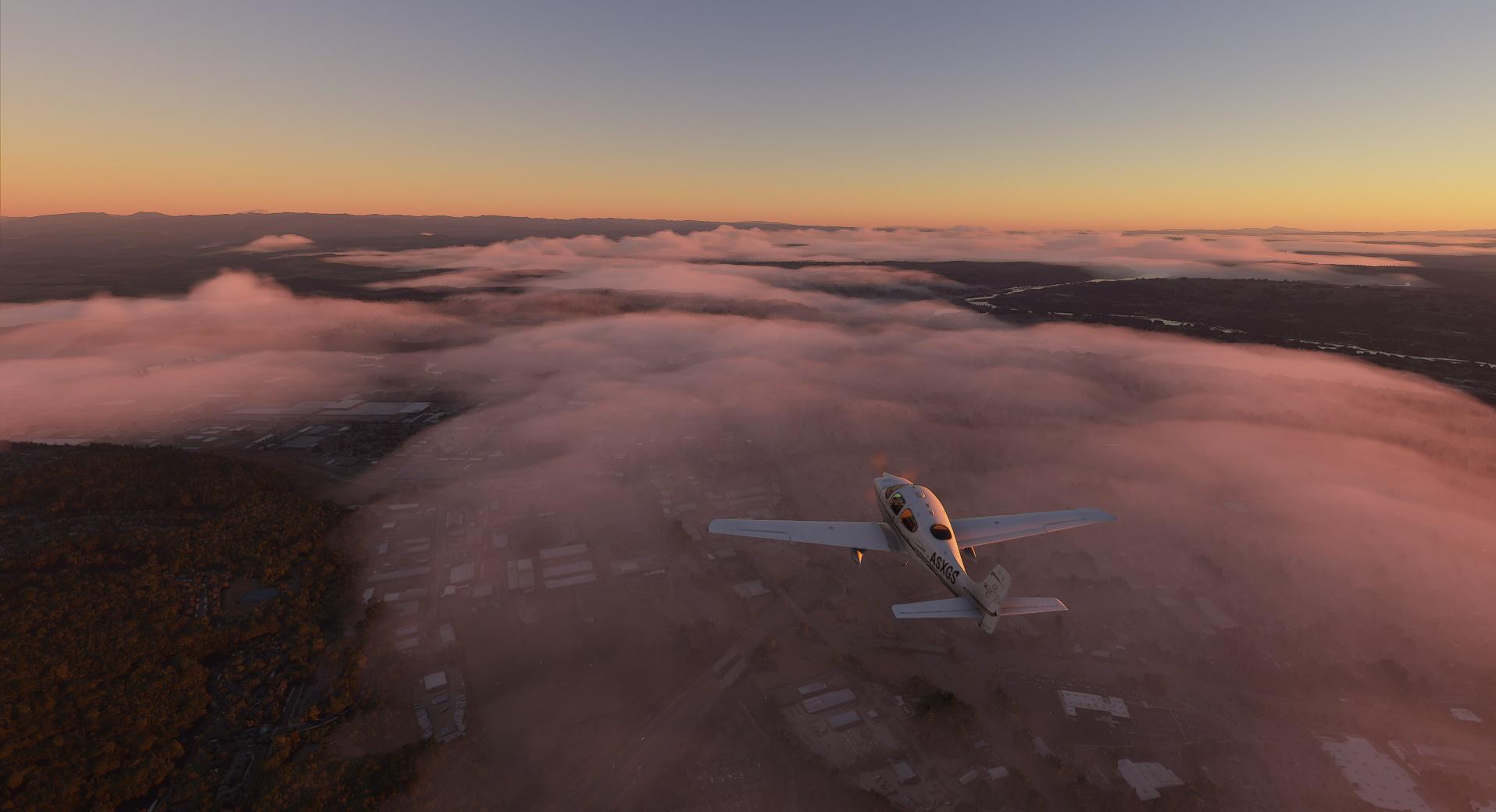 Microsoft Flight Simulator patch Cirrus Sr22 Oregon Mist2