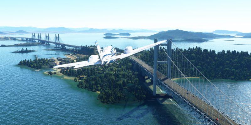 Microsoft Flight Simulator Japan