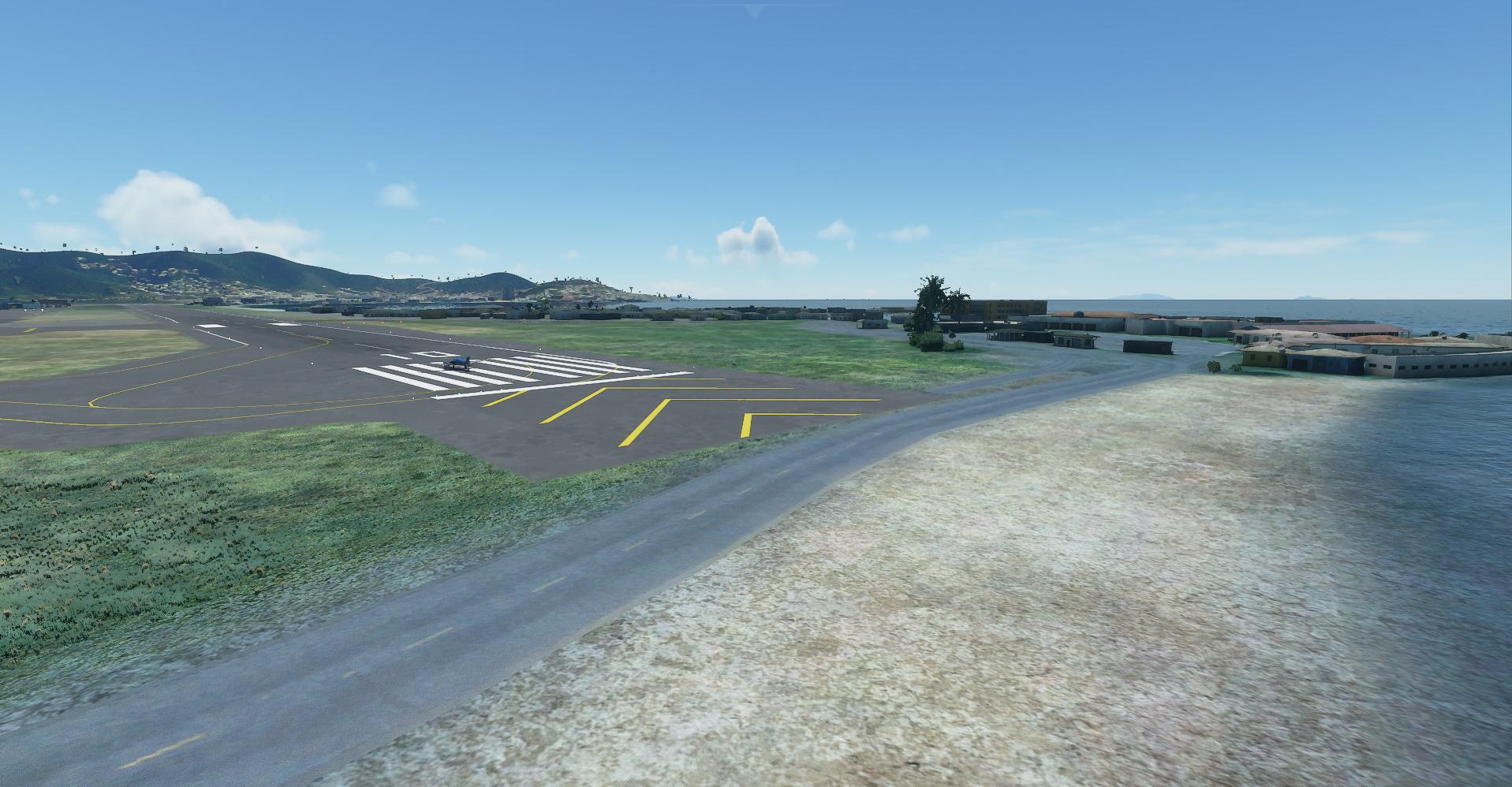Microsoft Flight Simulator Princess Juliana Beach