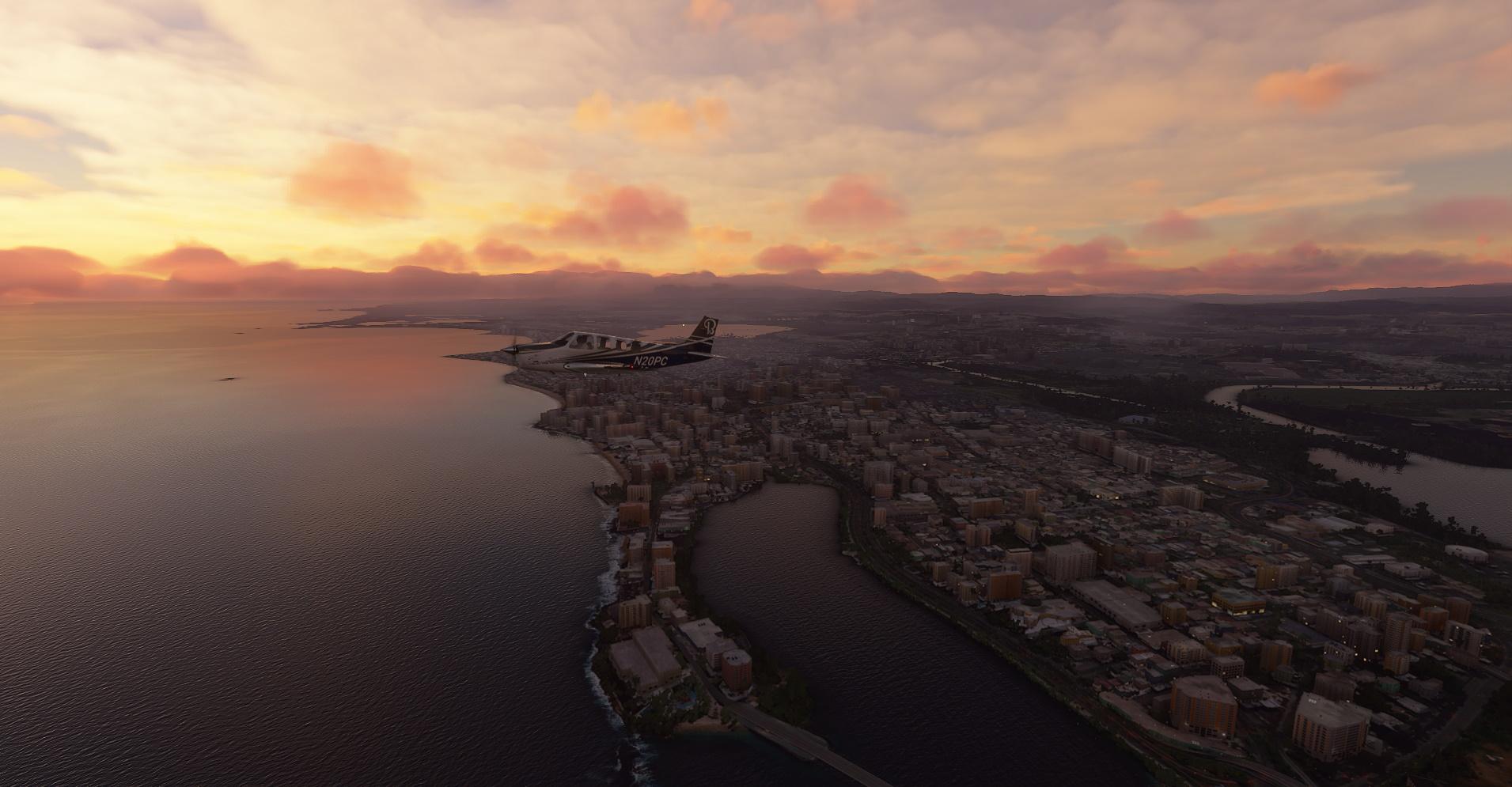 Microsoft Flight Simulator San Juan Puerto Rico