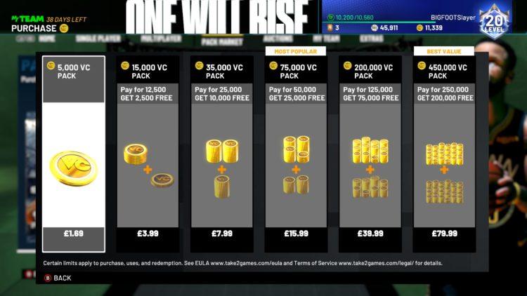 Nba 2k21 Virtual Currency