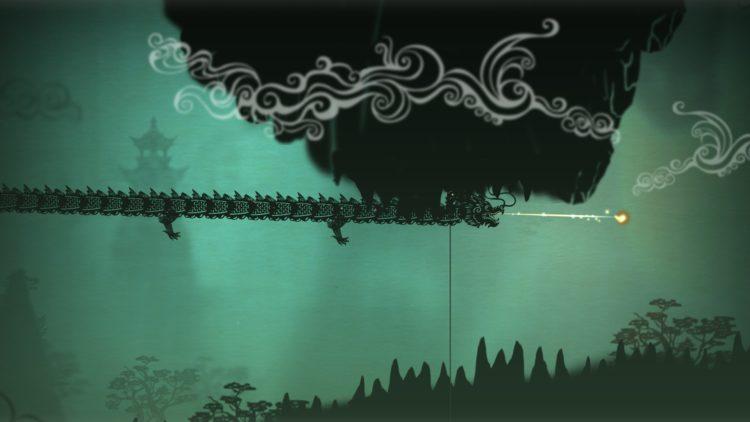 дракон пейзаж