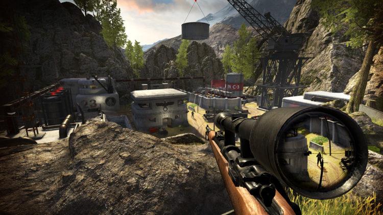 Sniper Elite Oculus VR
