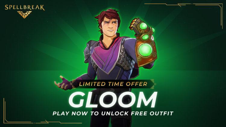 Spellbreak Free Gloom Cosmetic