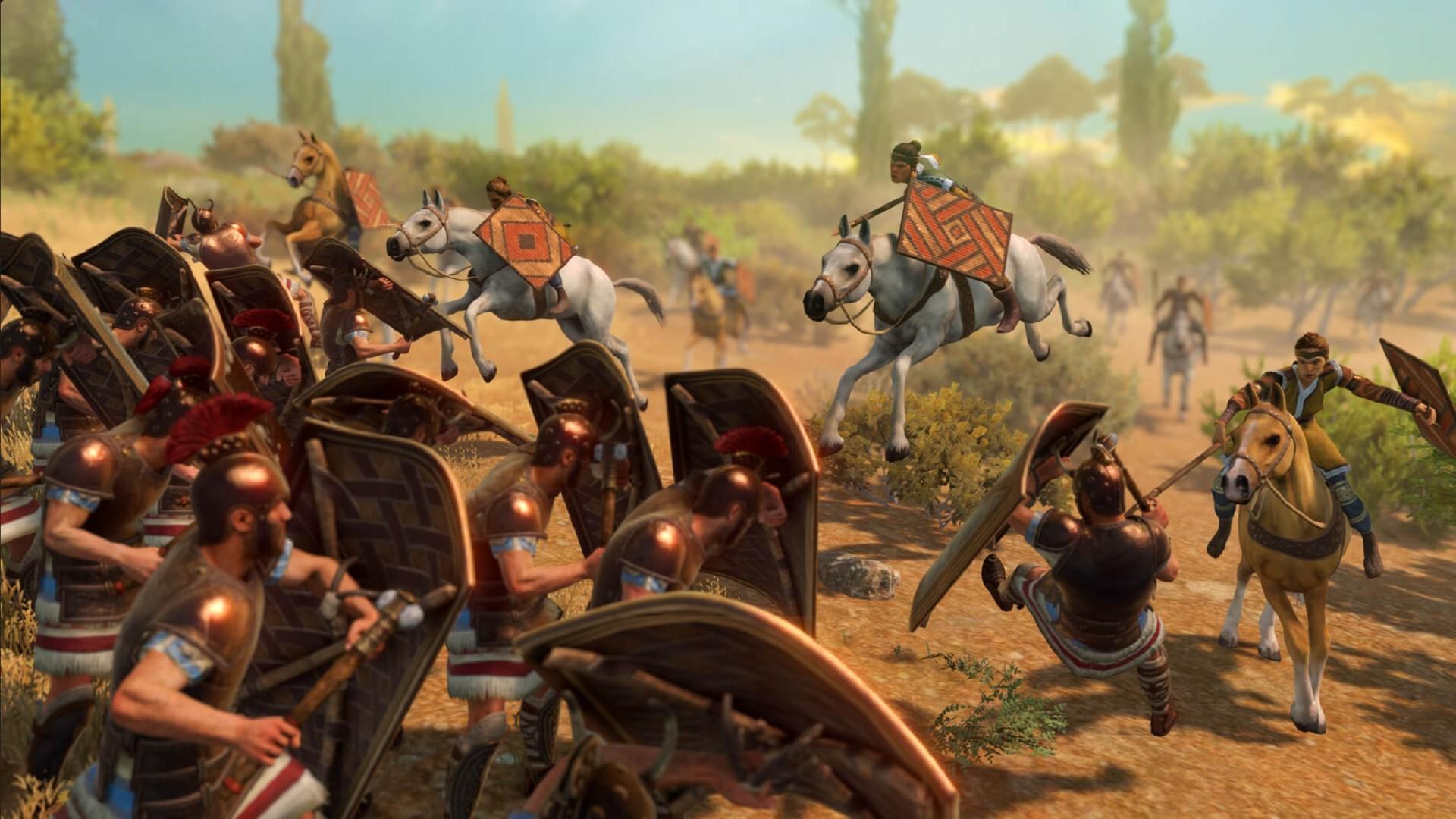 Total War Saga Troy Amazons Dlc Announcement Penthesilea Hippolyta 1