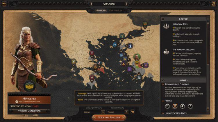 Total War Saga Troy Hippolyta's Amazons Guide Hippolyta 1b