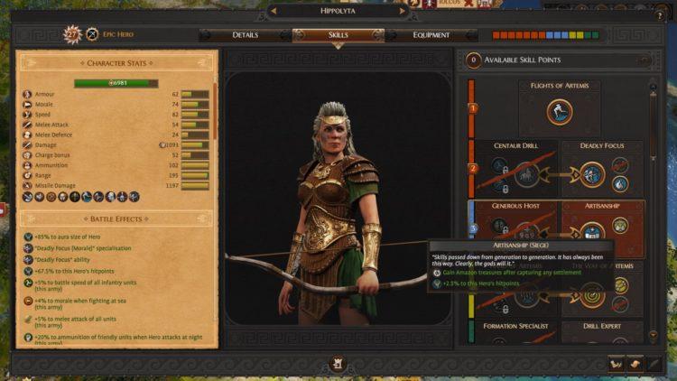 Total War Saga Troy Hippolyta's Amazons Guide Hippolyta 2c