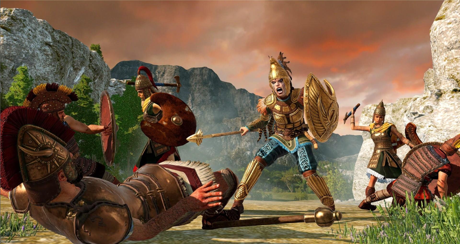 Total War Saga Troy Penthisilea Amazons Faction Guide