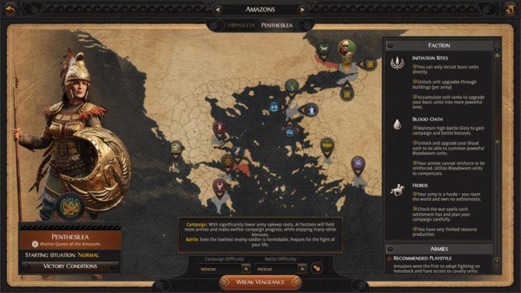 Total War Saga Troy Penthisilea Amazons Faction Guide 1b
