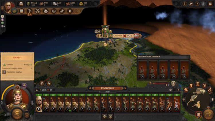 Total War Saga Troy Penthisilea Amazons Faction Guide 4b