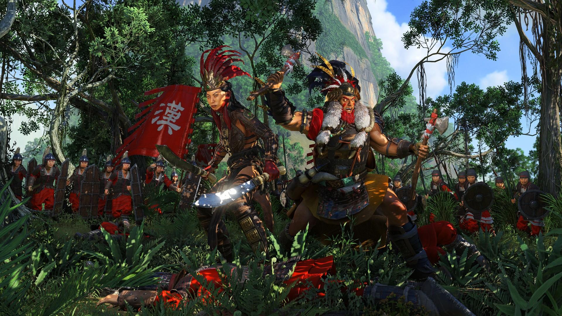 Total War Three Kingdoms The Furious Wild Nanman Meng Huo Guide